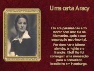 Uma Certa Aracy - Fundação Guimarães Rosa