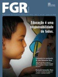 3ª Edição da FGR em Revista - Fundação Guimarães Rosa