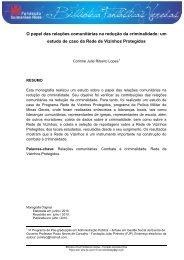 FUNDAÇÃO JOÃO PINHEIRO - Fundação Guimarães Rosa