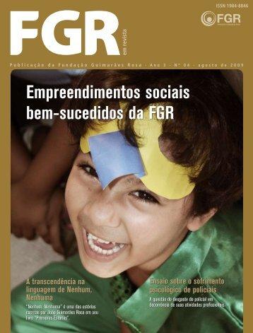 4ª Edição da FGR em Revista - Fundação Guimarães Rosa