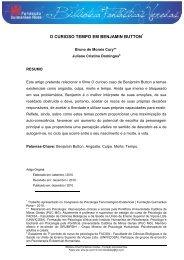 O Curioso Tempo Em Benjamin Button - Fundação Guimarães Rosa