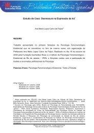 Estudo de Caso: Desmesura na Expressão da Ira - Fundação ...