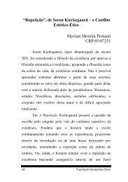 """""""Repetição"""", de Soren Kierkegaard – o Conflito Estético-Ético ..."""