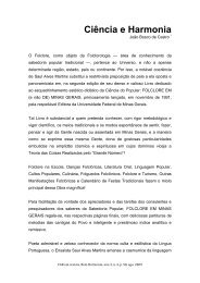 Ciência e Harmonia - Fundação Guimarães Rosa