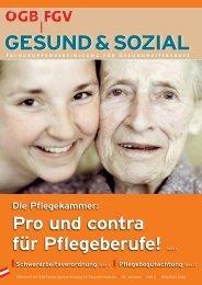 Ausgabe 2/2006 - Arge FGV für Gesundheits- und Sozial Berufe