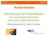 Roland Greubel - DINI