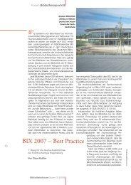 BIX 2007 - Die Bayerischen FachhochschulBibliotheken