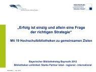 Erfolg ist einzig und allein eine Frage der richtigen Strategie - Die ...