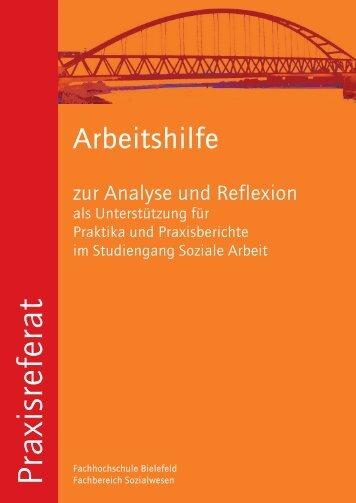 zur Analyse und Reflexion - Fachhochschule Bielefeld