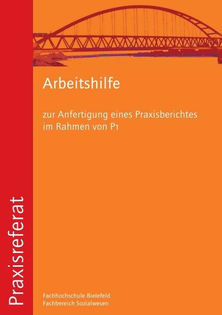 zum Praxisbericht P1 - Fachhochschule Bielefeld