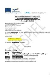 ZUSCHUSSVEREINBARUNG - Fachhochschule Bielefeld