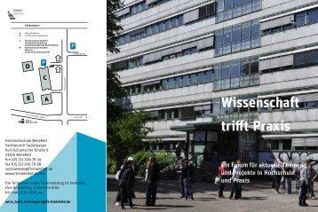 Wissenschaft trifft Praxis - Fachhochschule Bielefeld