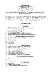 Bachelor Wirtschaftsrecht (BWR) - Fachhochschule Bielefeld