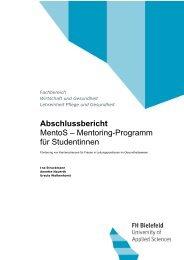 Mentoring-Programm für Studentinnen - Fachhochschule Bielefeld
