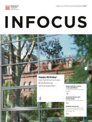 infocus 1/2013 - Fachhochschule Brandenburg