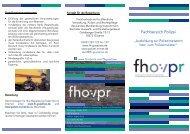Infoflyer über die Ausbildung nach § 10 ... - Fh-guestrow.de