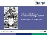 Präsentation zum Vortrag (255.92 kB) - Fh-guestrow.de