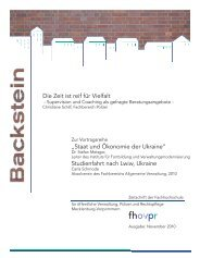 Backstein Herbst/Winter 2010 - Fh-guestrow.de