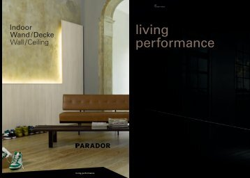 Katalog Parador Indoor Wand / Decke - Beinbrech
