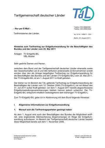 Tarifgemeinschaft deutscher Länder