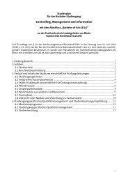 Studienplan - Hochschule Ludwigshafen am Rhein