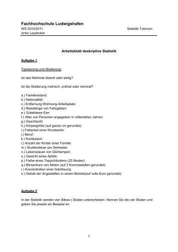 AWL - Arbeitsblatt