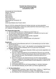Protokoll der Vollversammlung Fachschaft Sozialmanagement am ...
