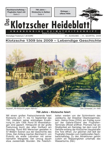 HEIDE- POTHEKE - Klotzscher Heideblatt