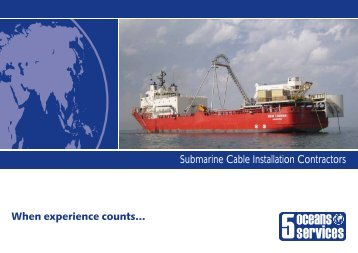 Submarine Cable Installation Contractor