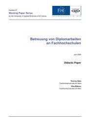 WP27 (PDF, 1,51 MB) - FH des BFI Wien