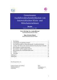 PDF, 402,48 kB - Fachhochschule des bfi Wien