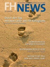 FH News 41 (PDF - 7,77 MB) - FH des BFI Wien
