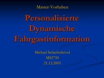 Vortrag - FH Wedel