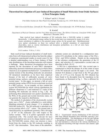 PubTeX output 1998.05.27:1424 - The Fritz Haber Center for ...