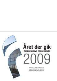 Året der gik - Frederikshavn Handelsskole