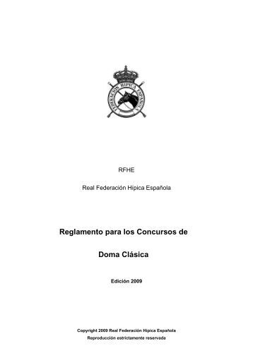 Reglamento de Doma 2006 - Fhbalear.com