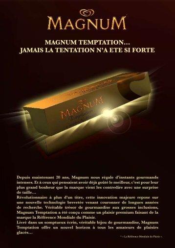 MAGNUM TEMPTATION… JAMAIS LA TENTATION N'A ETE ... - fhcom