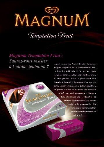 Magnum Temptation Fruit : Saurez-vous resister - fhcom