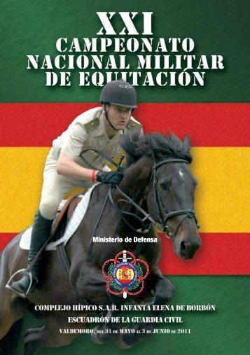 Ministerio de Defensa - Federación Hípica de Madrid