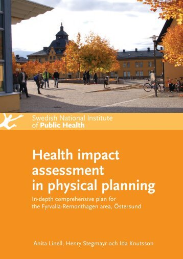 Health impact assessment in physical planning