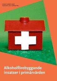 Alkoholförebyggande insatser i primärvården - Statens folkhälsoinstitut