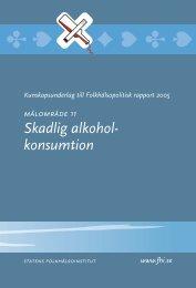Kunskapsunderlag 12 till folkhälsopolitisk rapport 2005, 312 kB