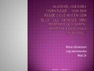 Graviditet och alkohol - Mona Göransson, 2,43 MB