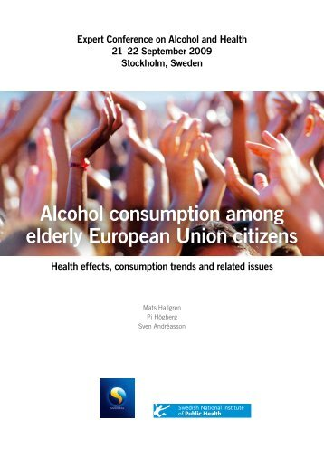 Alcohol consumption among elderly European Union citizens