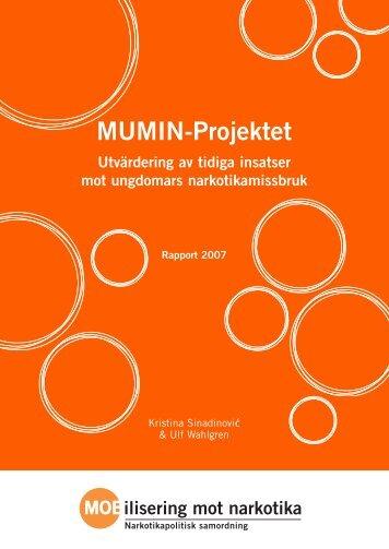 MUMIN-Projektet - Utvärdering av tidiga insatser mot ungdomars ...