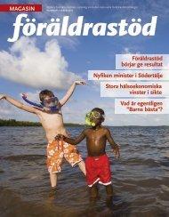 Magasin föräldrastöd nr 2, 2.14 MB - Statens folkhälsoinstitut
