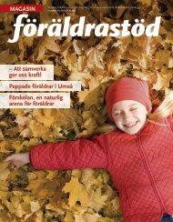 Magasin Föräldrastöd, 2.16 MB - Statens folkhälsoinstitut