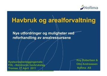 Nofima Marin (Andreassen/Robertsen) - FHL