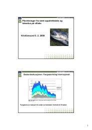 Påvirkning av rømt oppdrettslaks og lakselus på villaks. - FHL