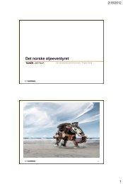 Olje - vår skattekiste på havbunnen - FHL
